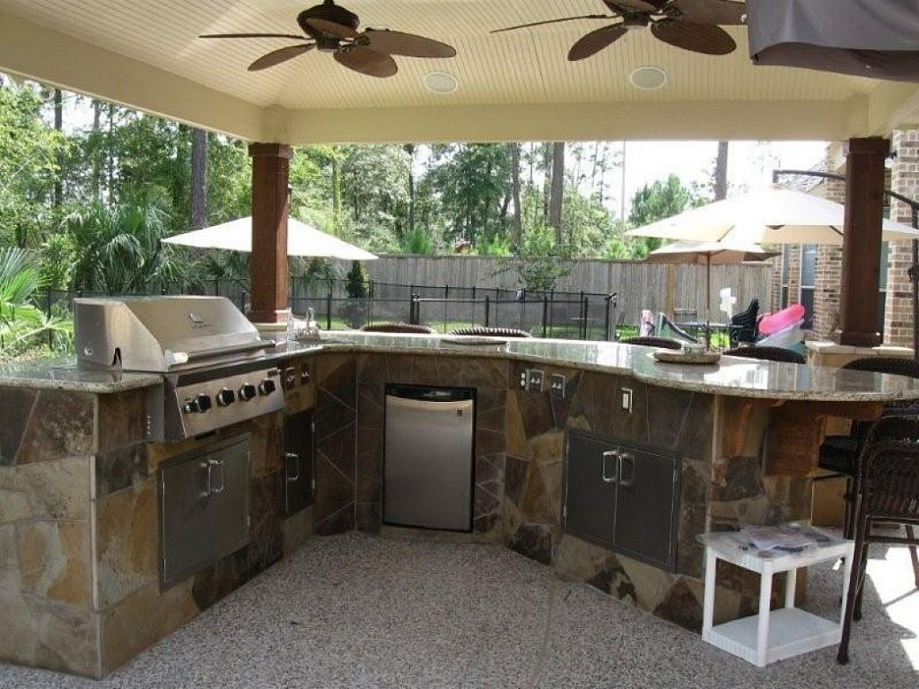 Best ideas about Patio Kitchen Ideas . Save or Pin Outdoor Kitchen Design for a Wonderful Patio Amaza Design Now.