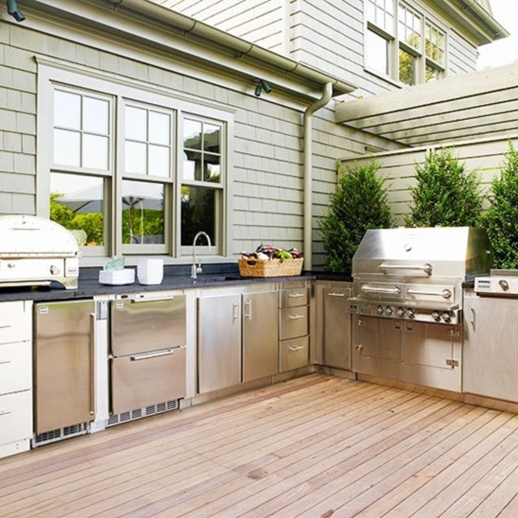 Best ideas about Patio Kitchen Ideas . Save or Pin The Benefits of a Divine Outdoor Kitchen for your Home Now.