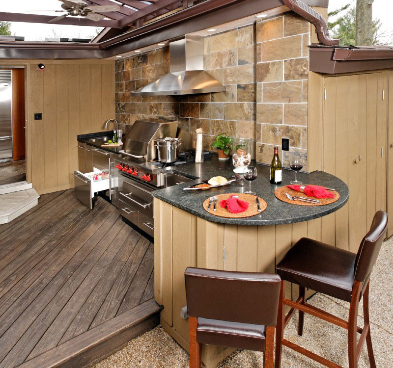 Best ideas about Patio Kitchen Ideas . Save or Pin Upgrade Your Backyard with an Outdoor Kitchen Now.