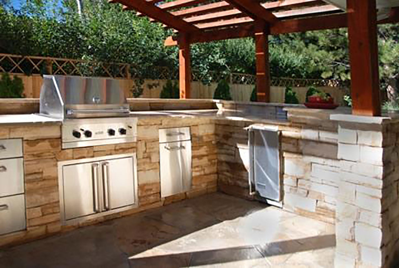 Best ideas about Patio Kitchen Ideas . Save or Pin Outdoor Kitchens The Hot Tub Factory Long Island Hot Tubs Now.