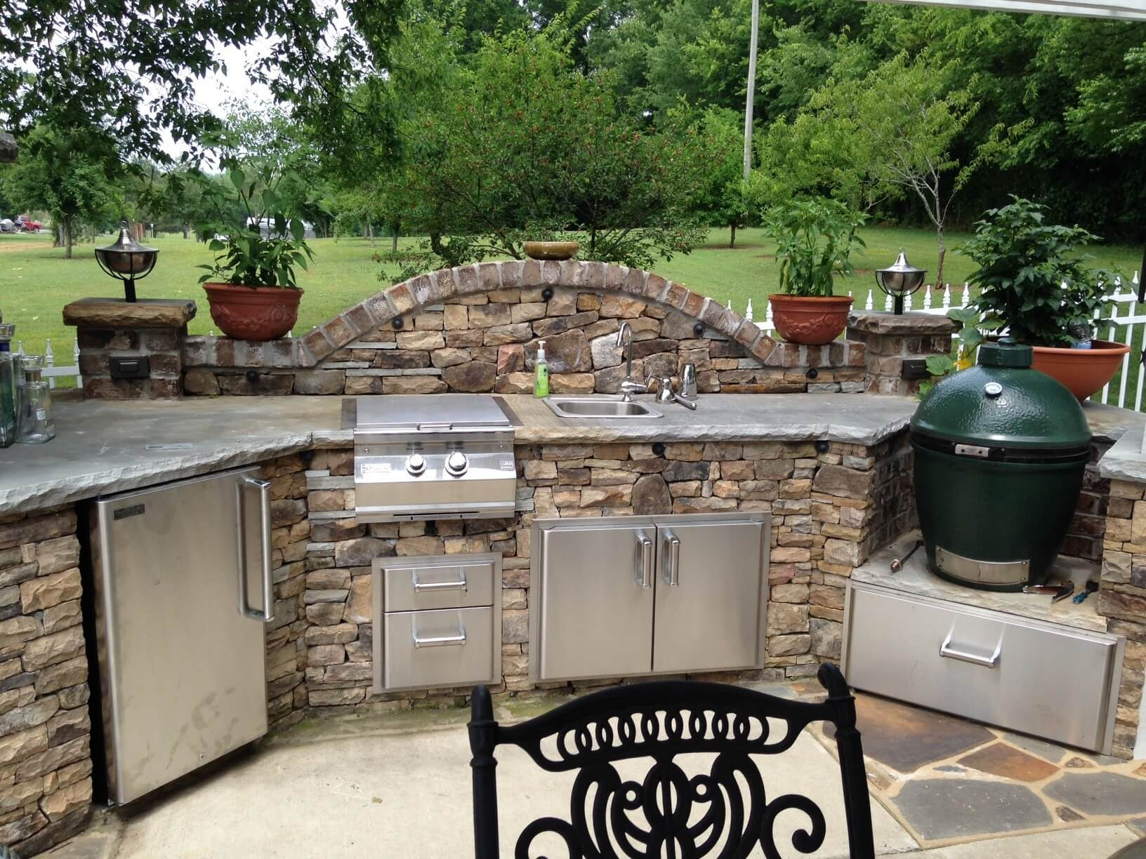 Best ideas about Patio Kitchen Ideas . Save or Pin 17 Functional and Practical Outdoor Kitchen Design Ideas Now.