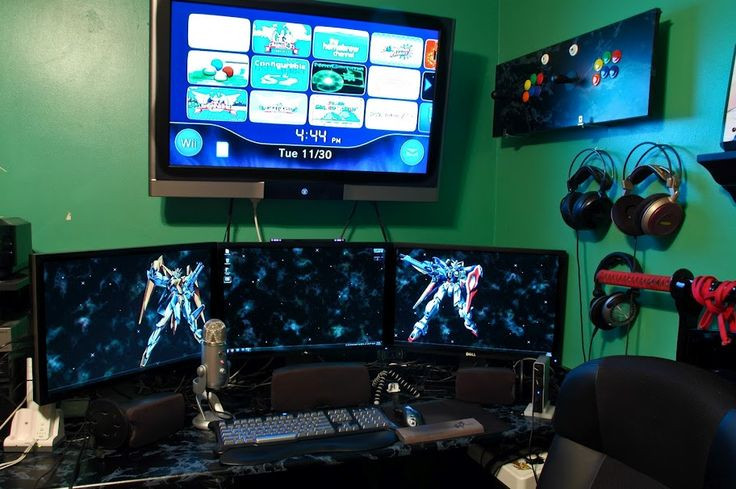 Best ideas about Pc Game Room . Save or Pin 59 best images about PC Workstation & Gaming Setup on Now.