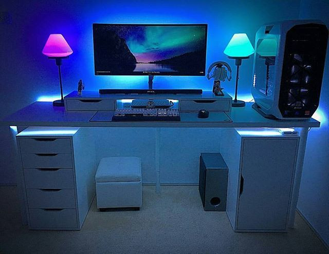 Best ideas about Pc Game Room . Save or Pin Best 25 Gaming setup ideas on Pinterest Now.