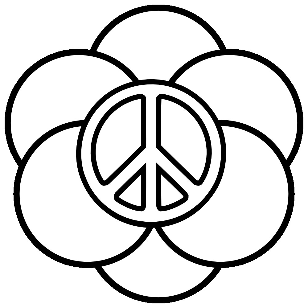 Peace Coloring Pages For Kids  Peace Coloring Pages 1