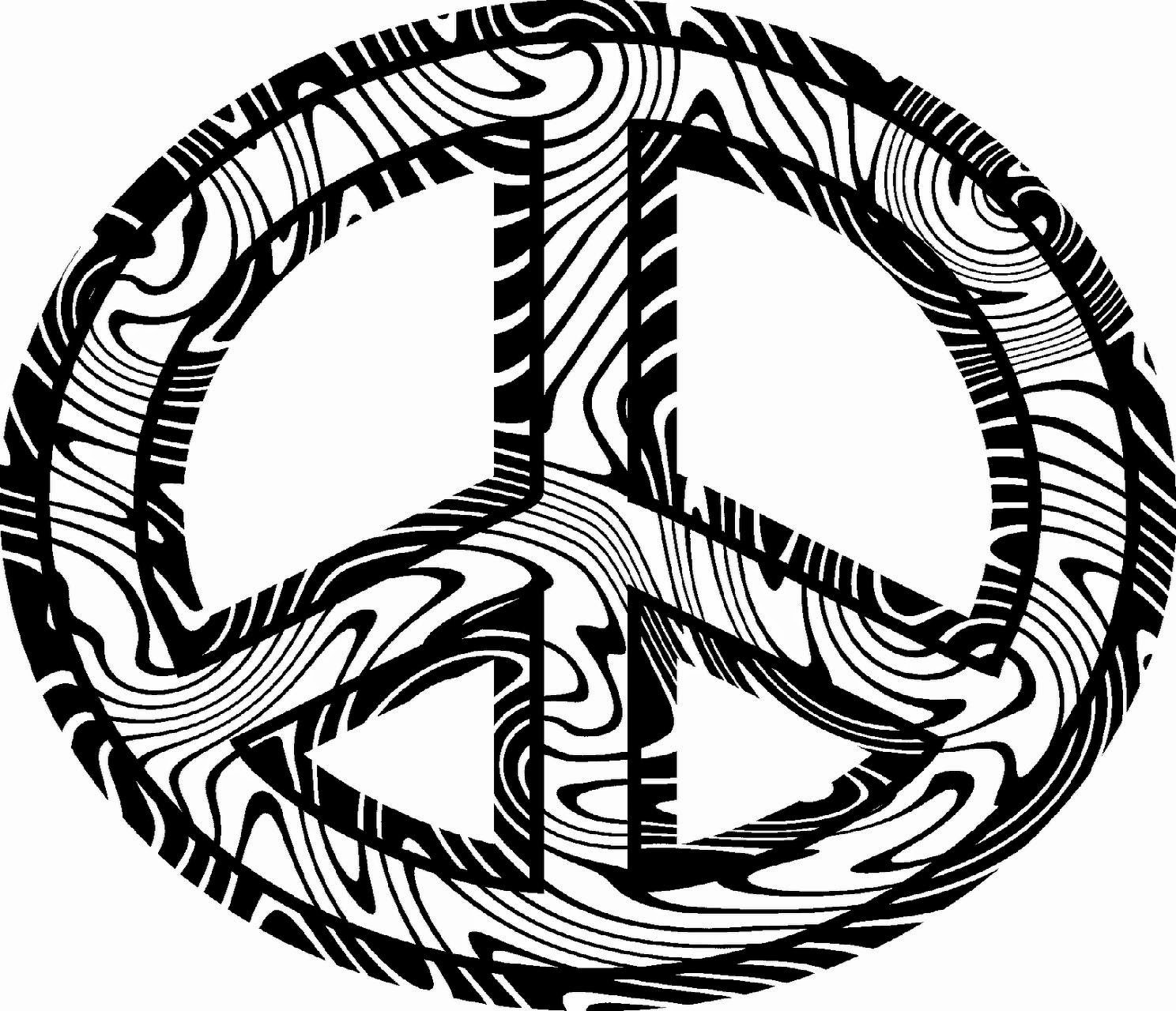 Peace Coloring Pages For Kids  Peace Coloring Sheets
