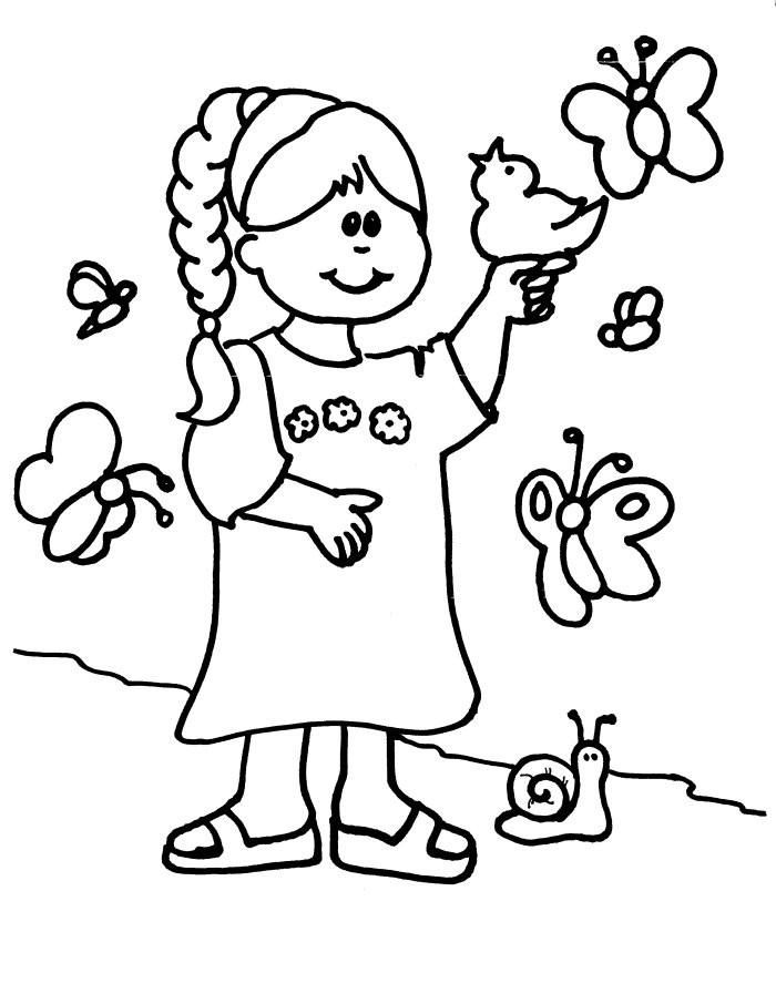 People Coloring Pages  People Coloring Sheets Janice s Daycare