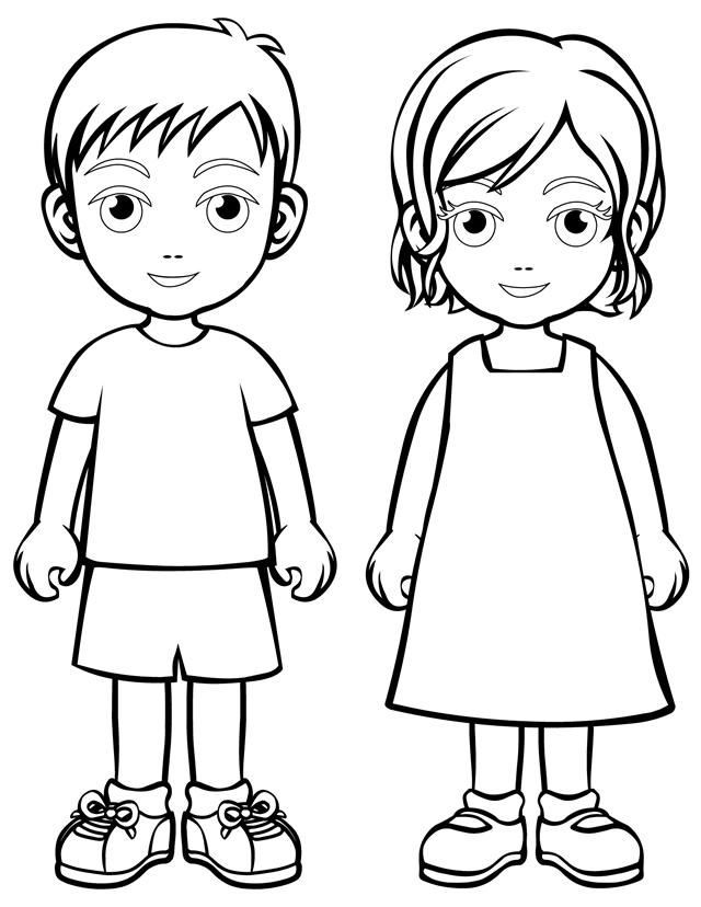 People Coloring Pages  People Color Pages Coloring Home
