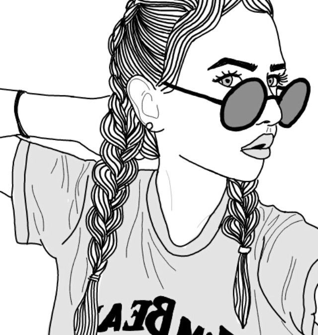 People Coloring Pages For Girls  Coloring Pages Tumblr