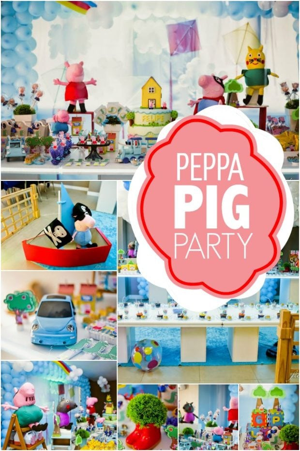 Best ideas about Peppa Pig Birthday Decorations . Save or Pin A Peppa Pig 3rd Birthday Party Now.