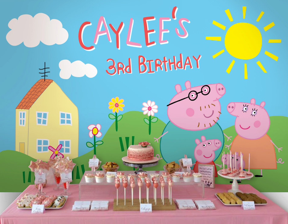 Best ideas about Peppa Pig Birthday Decorations . Save or Pin Peppa Pig Birthday Party Planning Ideas & Supplies Now.