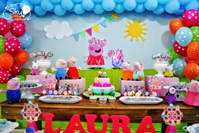Best ideas about Peppa Pig Birthday Decorations . Save or Pin Peppa Pig Party Little Wish Parties Now.
