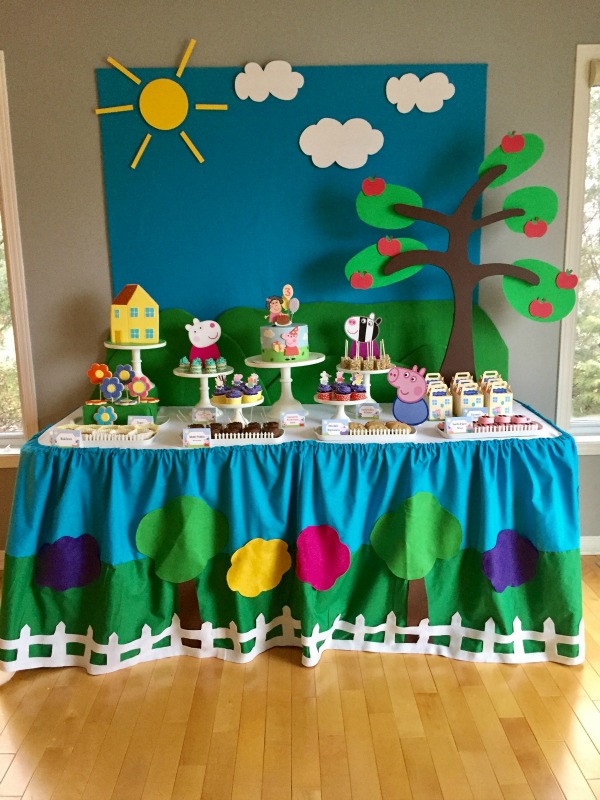 Best ideas about Peppa Pig Birthday Decorations . Save or Pin 16 Peppa Pig Birthday Party Ideas Pretty My Party Now.