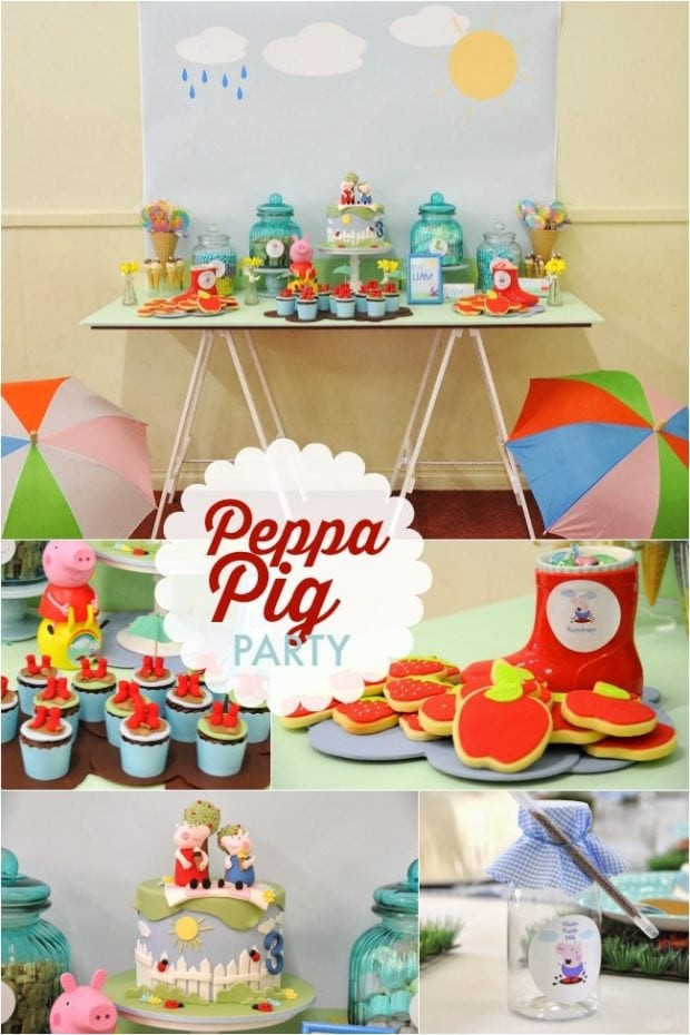 Best ideas about Peppa Pig Birthday Decorations . Save or Pin Puddle Jumping Boy s Birthday Party Fun with Peppa Pig Now.