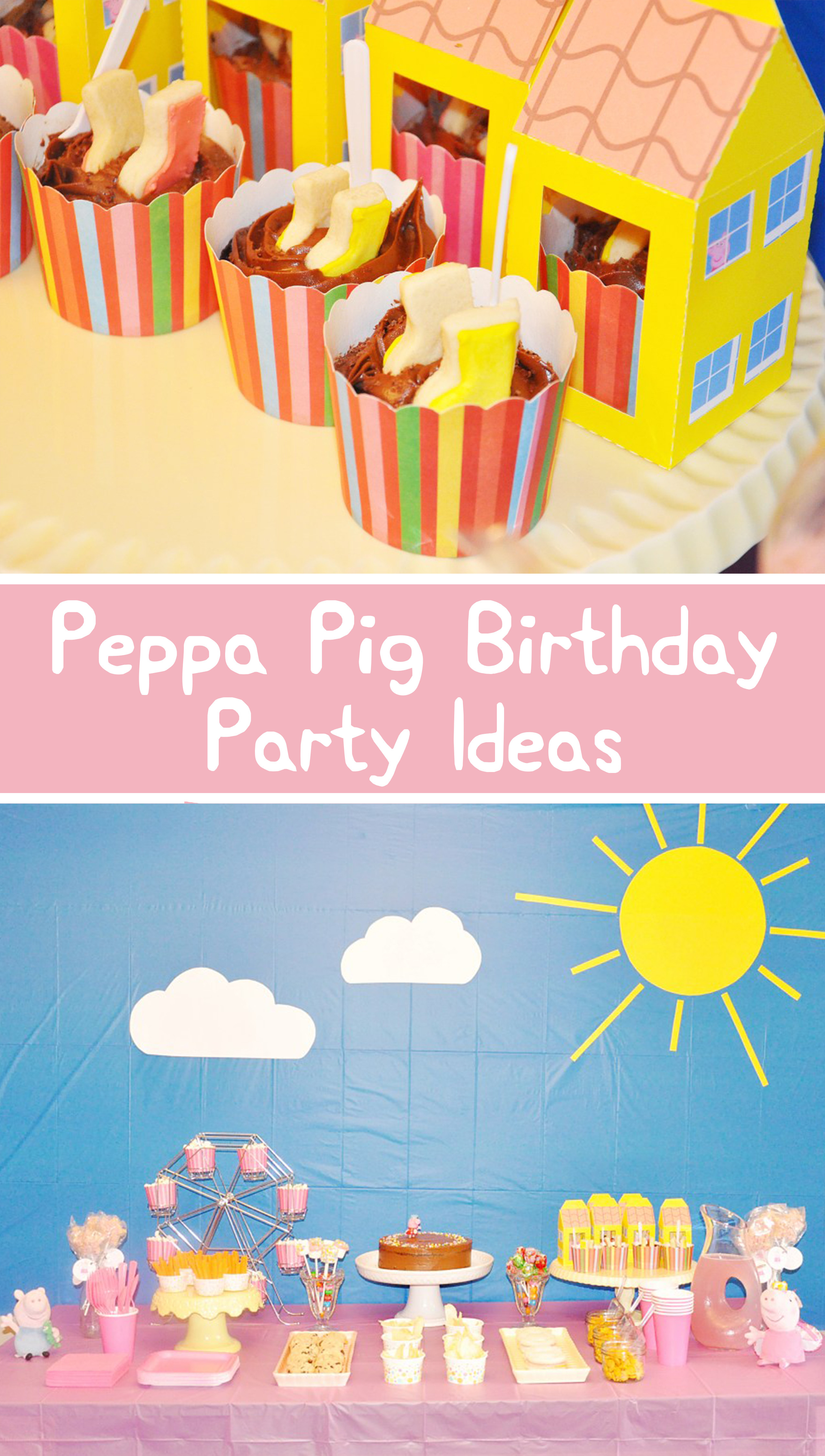 Best ideas about Peppa Pig Birthday Decorations . Save or Pin Peppa Pig Birthday Party Simple DIY Ideas & Free Now.