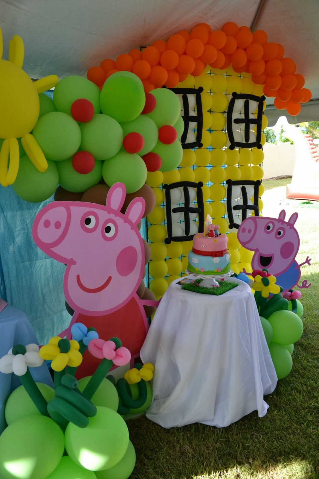 Best ideas about Peppa Pig Birthday Decorations . Save or Pin Partylicious Events PR Peppa Pig Party Now.