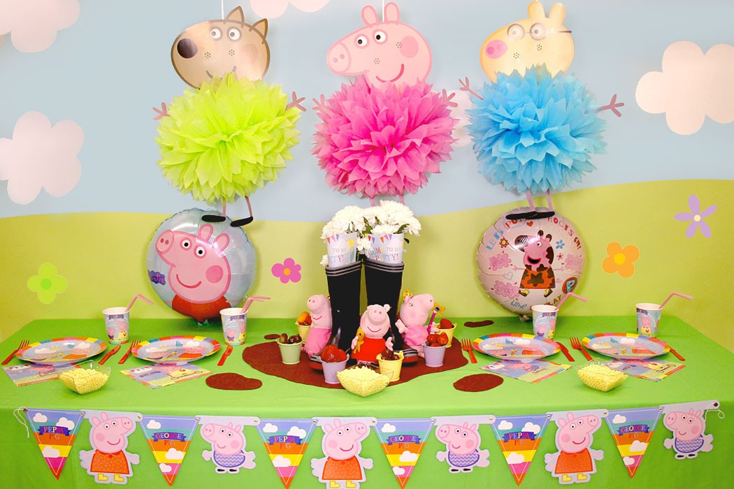 Best ideas about Peppa Pig Birthday Party Decorations . Save or Pin Peppa Pig Party Ideas Now.