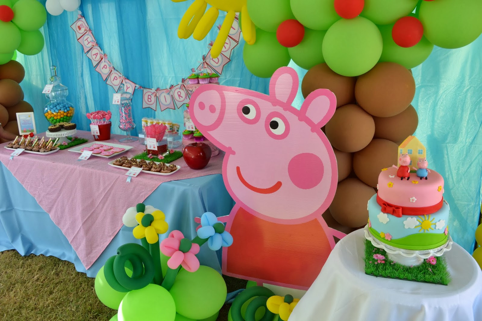 Best ideas about Peppa Pig Birthday Party Decorations . Save or Pin Partylicious Events PR Peppa Pig Party Now.