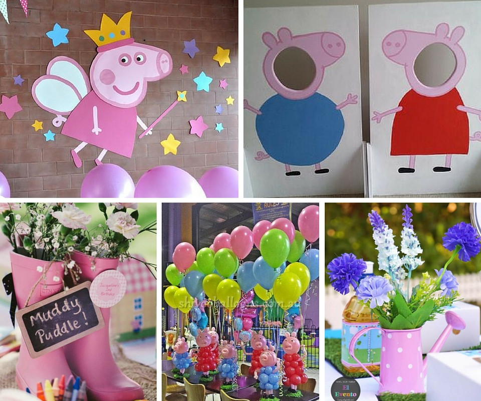 Best ideas about Peppa Pig Birthday Party Decorations . Save or Pin Peppa Pig Party Now.