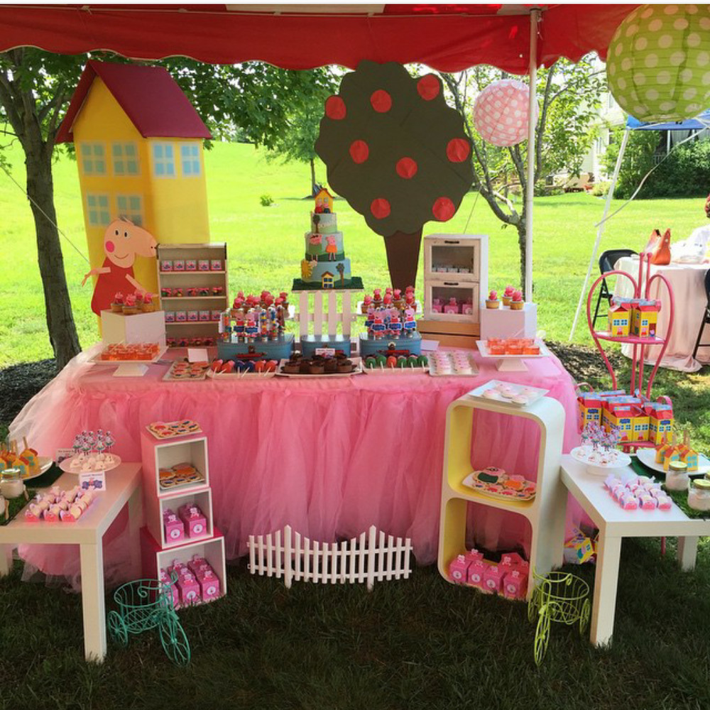 Best ideas about Peppa Pig Birthday Party Decorations . Save or Pin Peppa pig themed party Birthday Party Ideas Now.