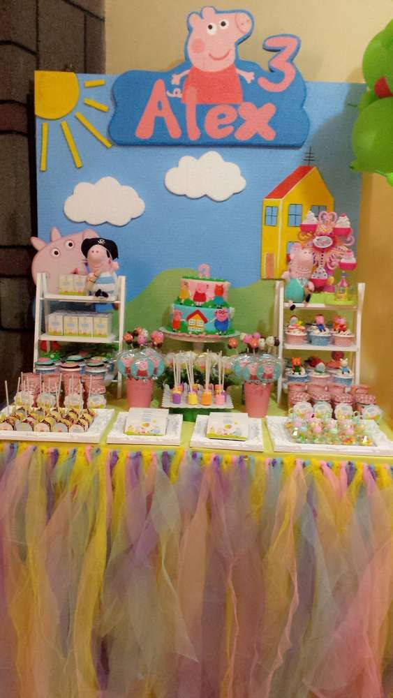 Best ideas about Peppa Pig Birthday Party Decorations . Save or Pin 296 best Peppa Pig Party Ideas images on Pinterest Now.