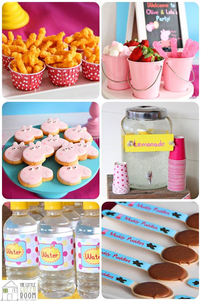 Best ideas about Peppa Pig Birthday Party Decorations . Save or Pin Kara s Party Ideas Peppa Pig Twins Party with Such Great Now.