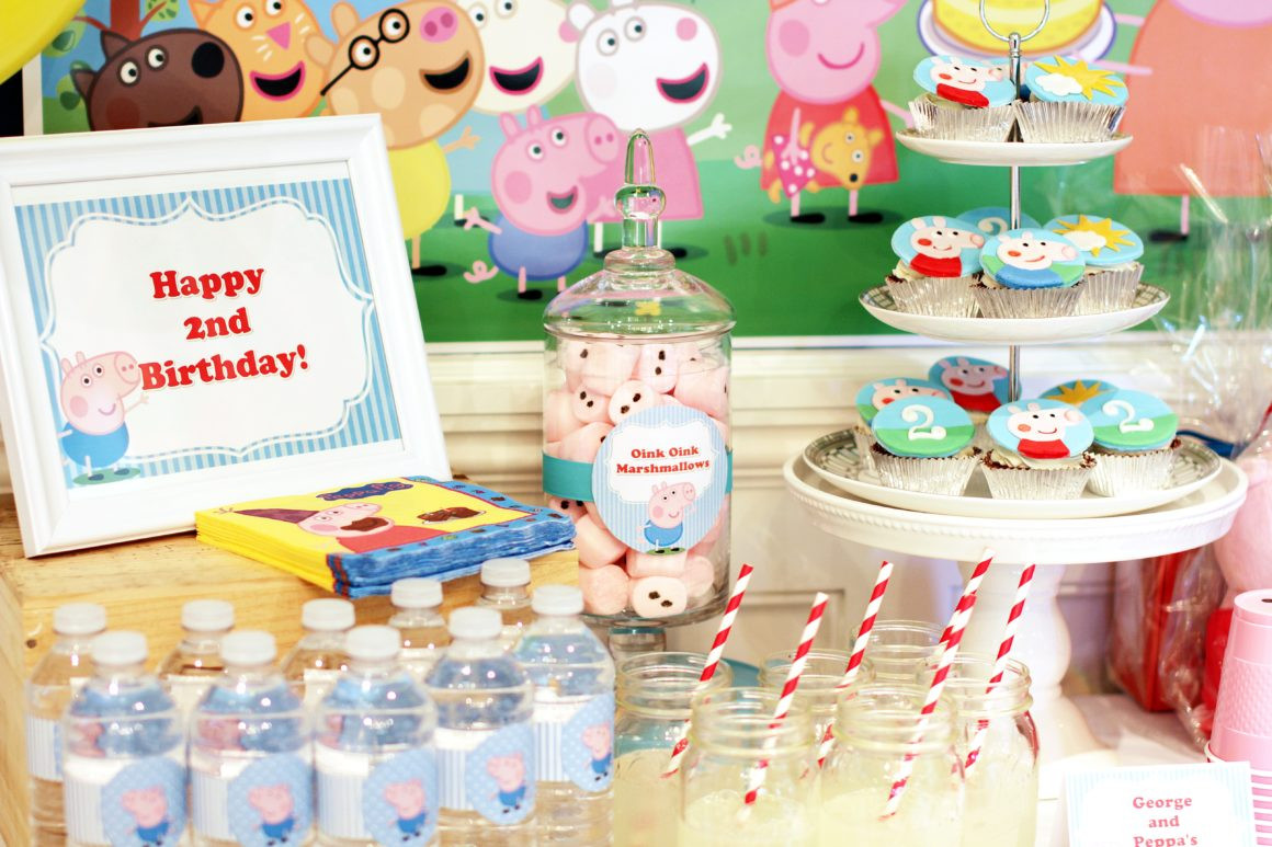 Best ideas about Peppa Pig Birthday Party Decorations . Save or Pin Peppa and George Pig Birthday Party – Part 1 Now.