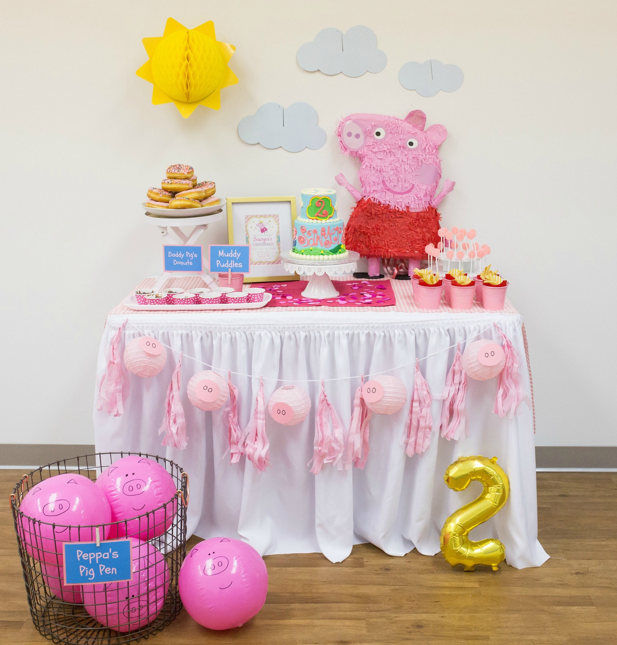 Best ideas about Peppa Pig Birthday Party Decorations . Save or Pin Peppa Pig™ Birthday Party Now.