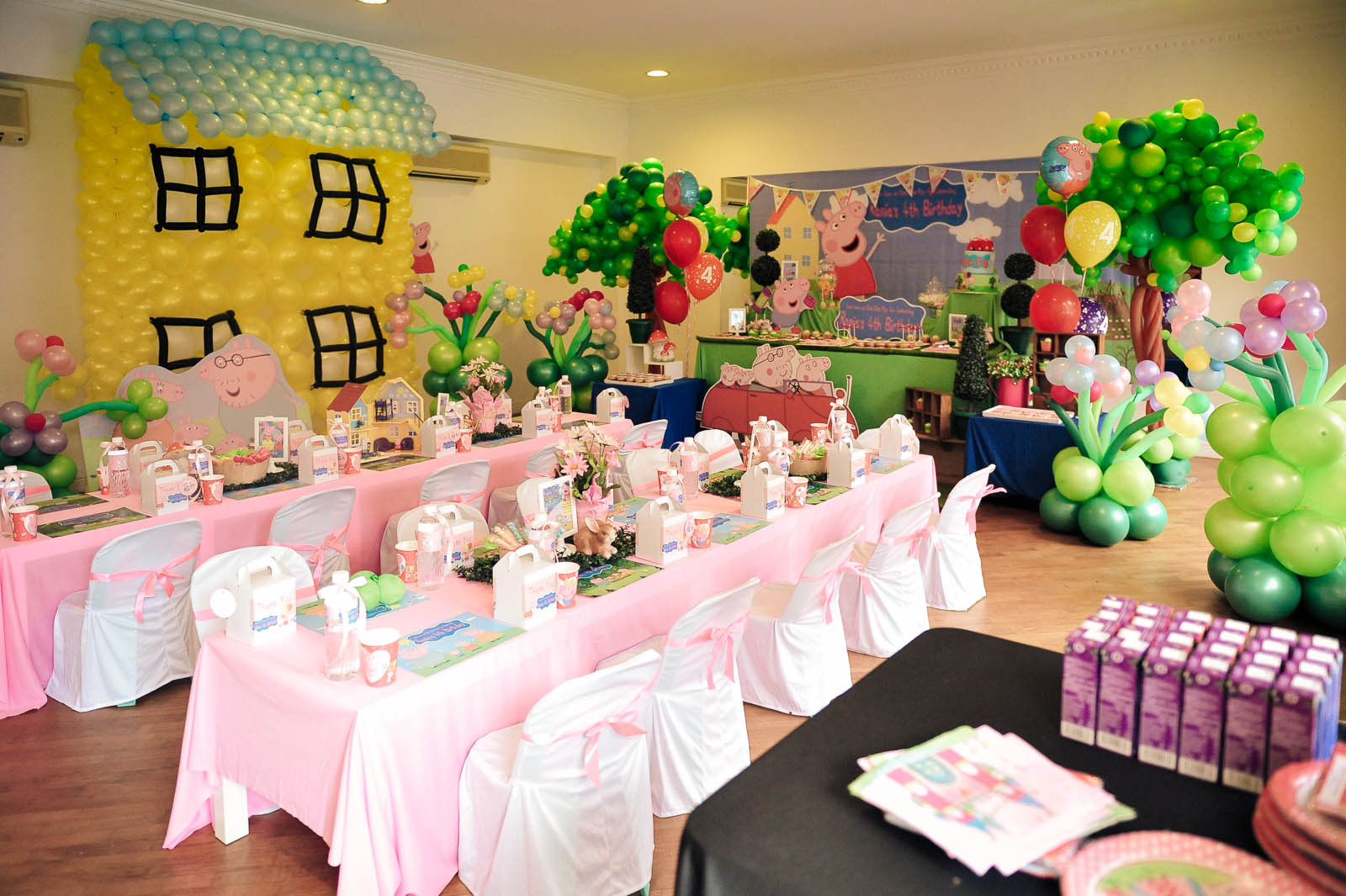 Best ideas about Peppa Pig Birthday Party Decorations . Save or Pin Sandy Party Decorations Now.