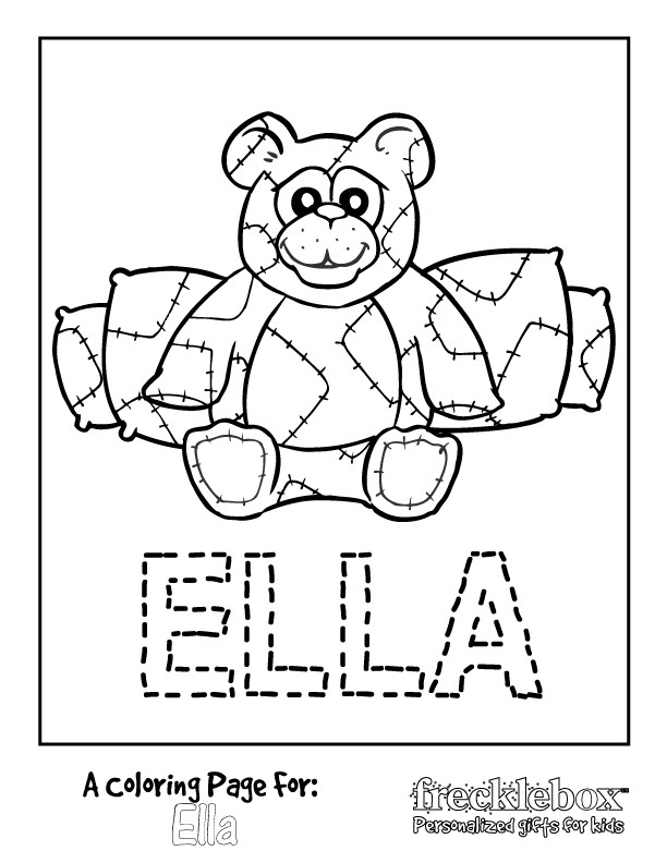Personalized Coloring Pages  free personalized coloring pages the wedding Gianfreda