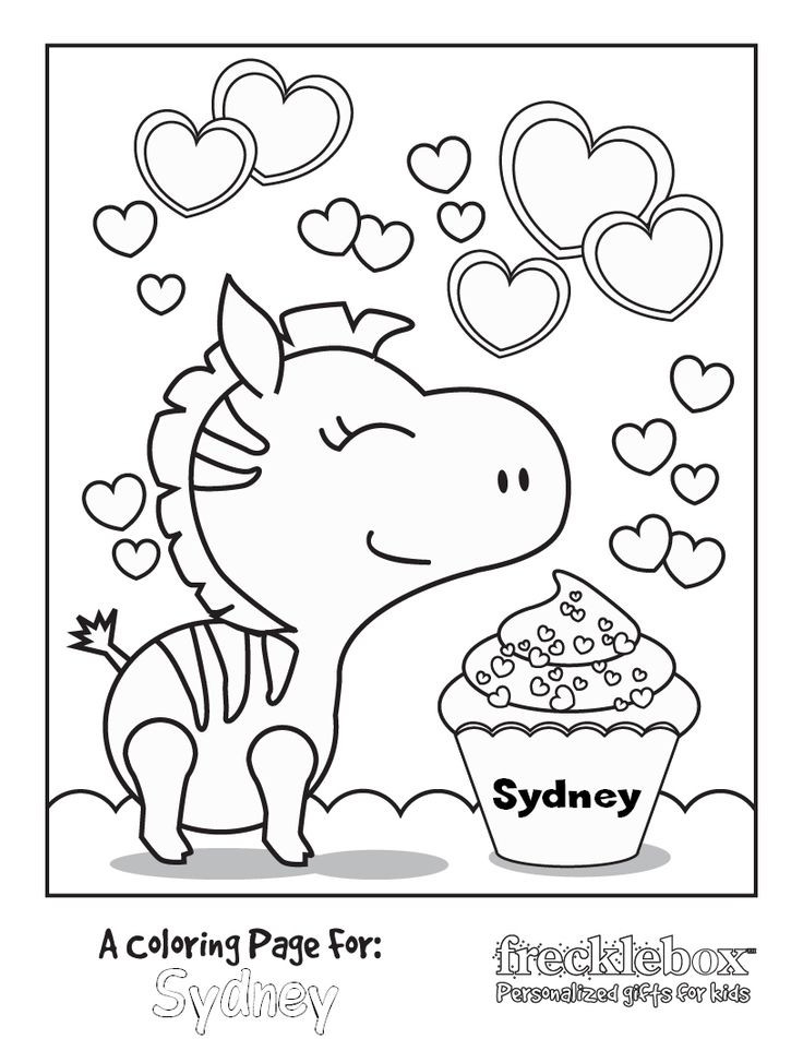 Personalized Coloring Pages  FREE Personalized Coloring Pages