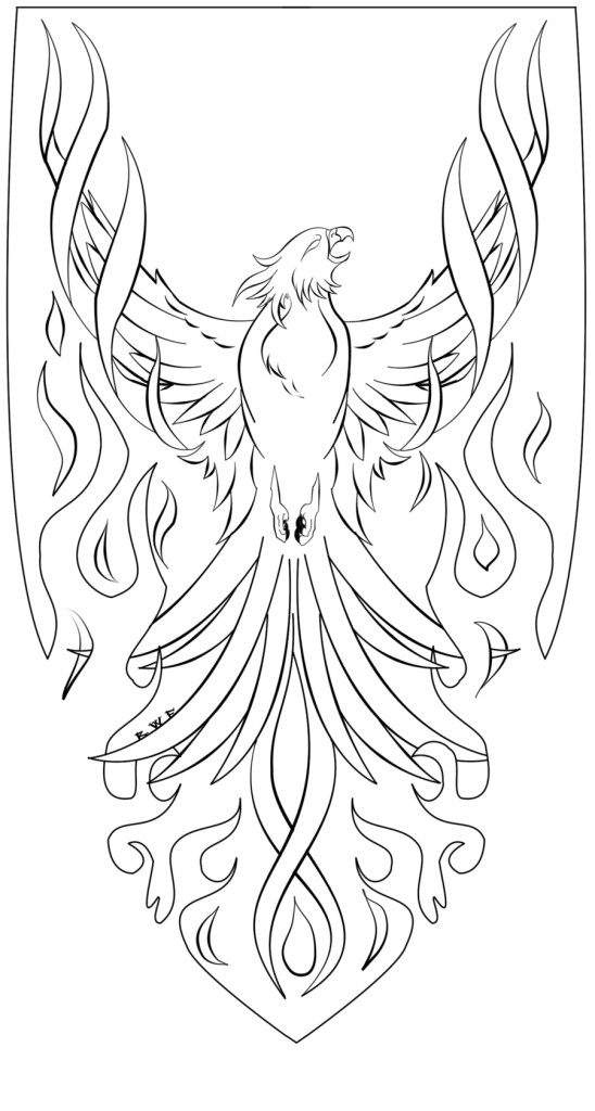 Pheonix Coloring Pages  Phoenix Coloring Pages Coloring Coloring Pages