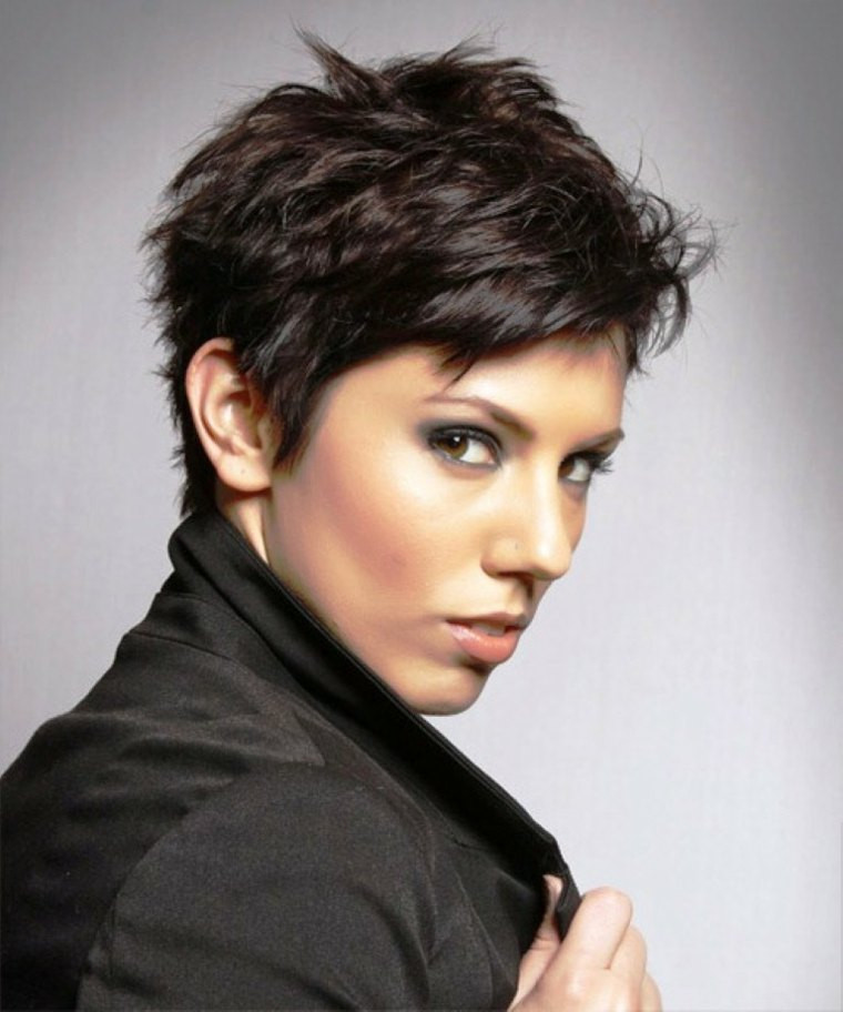 Best ideas about Photos Of Womens Short Haircuts . Save or Pin Coupe courte et cheveux noirs 34 idées fabuleuses Now.