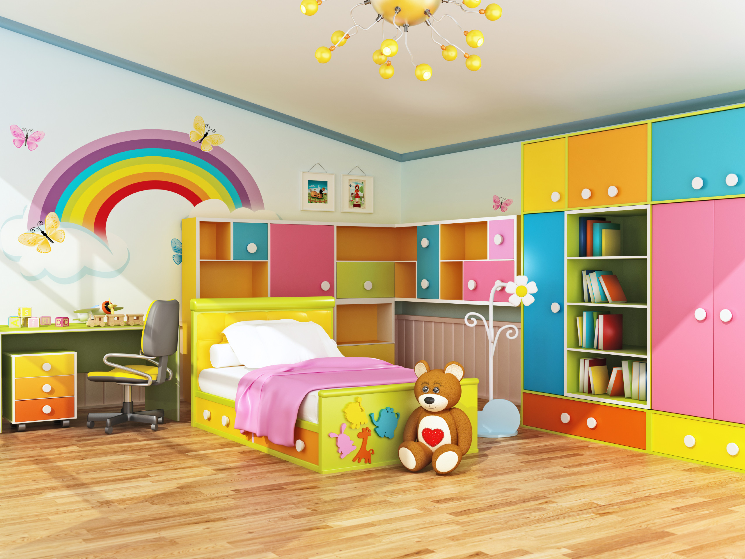 Best ideas about Pictures For Kids Room . Save or Pin Plan Ahead When Decorating Kids Bedrooms Now.