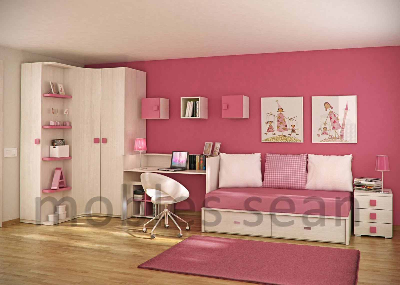 Best ideas about Pictures For Kids Room . Save or Pin Space Saving Designs for Small Kids Rooms Now.
