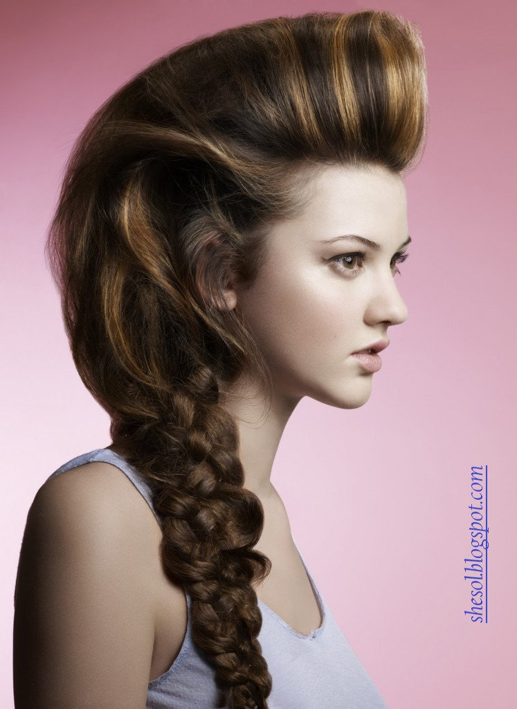 Best ideas about Pictures Of Cute Hairstyles . Save or Pin SHE SOL New Ponytail Hairstyles For 2013 Now.