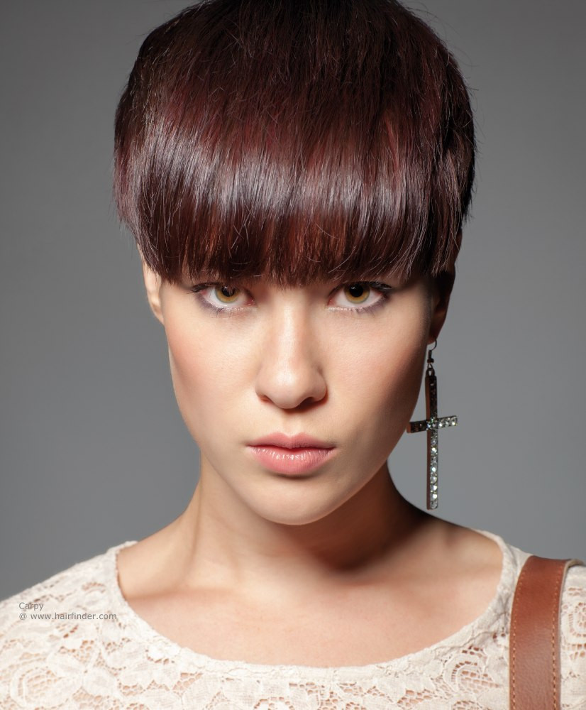 Best ideas about Pictures Of Cute Hairstyles . Save or Pin 23 Cute Short Hairstyles with Bangs Now.