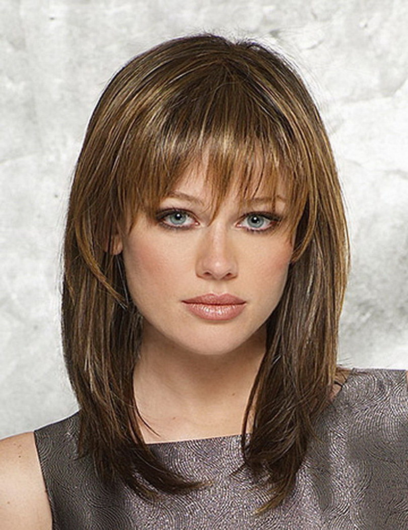 Pictures Of Medium Length Hairstyles  Latest Hairstyles For Women s To Look Hottest In 2016
