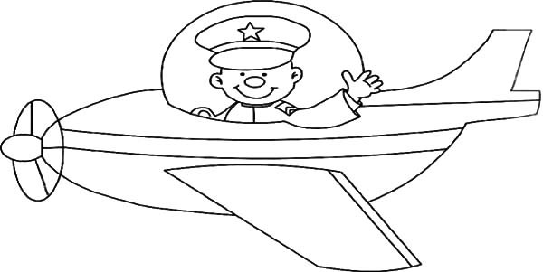 Pilot Coloring Pages For Kids  Pilot Coloring Pages I Am The My Success Page