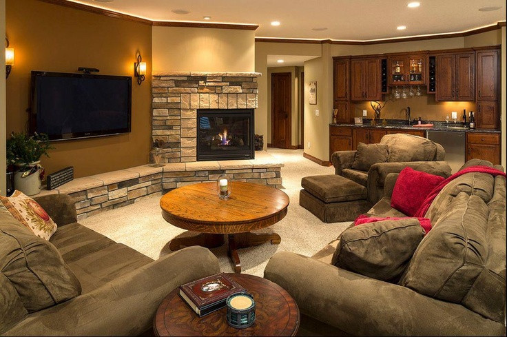 Best ideas about Pinterest Basement Ideas . Save or Pin Basement Ideas For the Home Now.