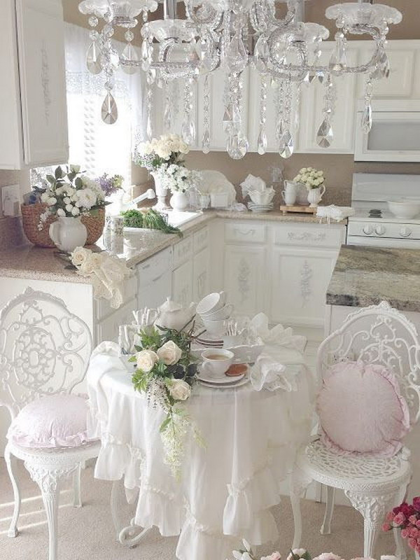 Best ideas about Pinterest Shabby Chic . Save or Pin Awesome Shabby Chic Kitchen Designs Now.