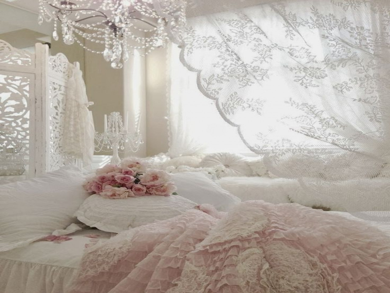 Best ideas about Pinterest Shabby Chic . Save or Pin Romantic rustic bedroom ideas shabby chic bedroom design Now.