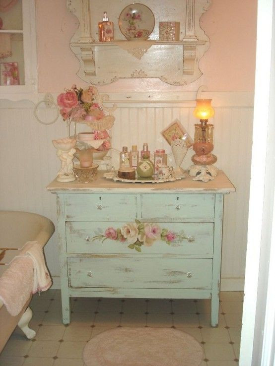 Best ideas about Pinterest Shabby Chic . Save or Pin 28 Lovely And Inspiring Shabby Chic Bathroom Décor Ideas Now.