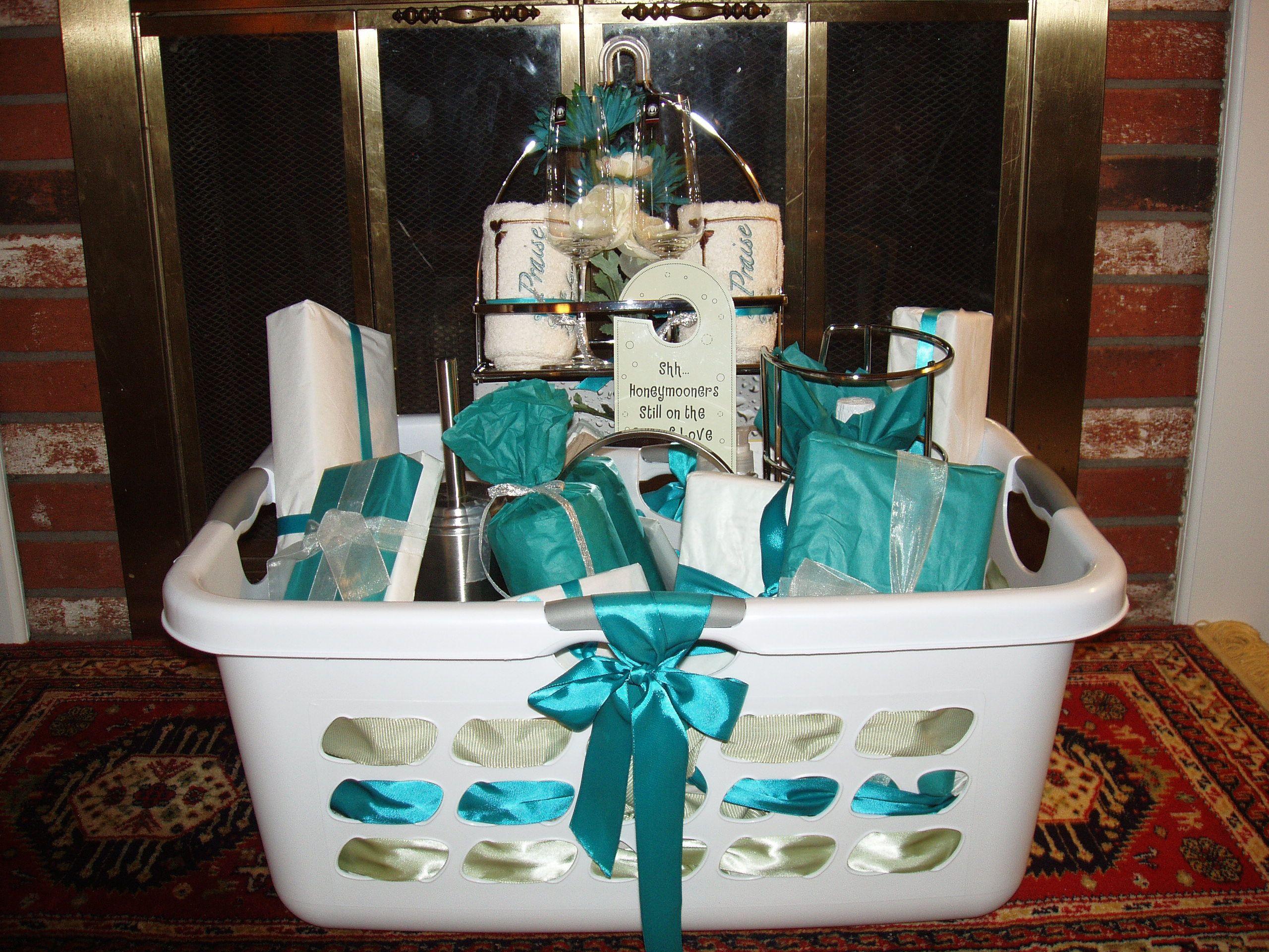 Best ideas about Pinterest Wedding Gift Ideas . Save or Pin bridal shower basket Basket Ideas Pinterest Now.