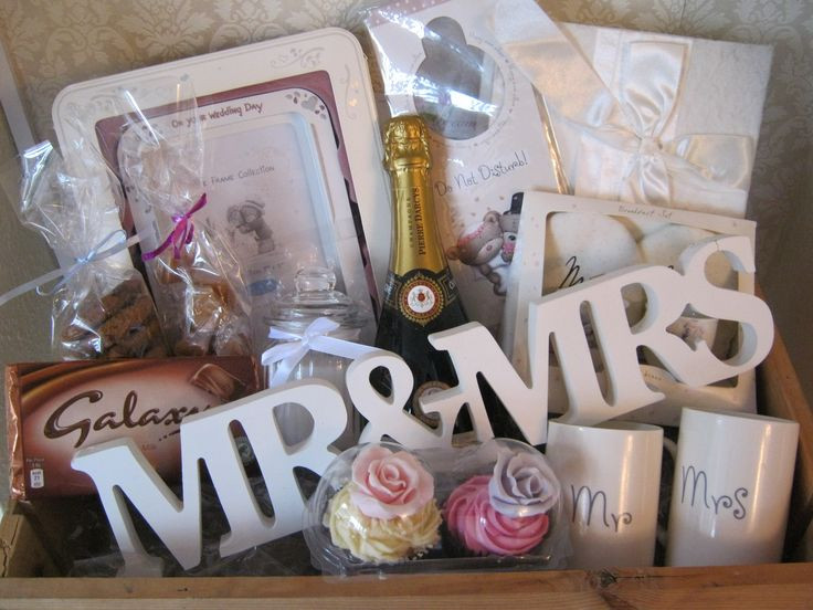 Best ideas about Pinterest Wedding Gift Ideas . Save or Pin Wedding Hamper dreams Now.