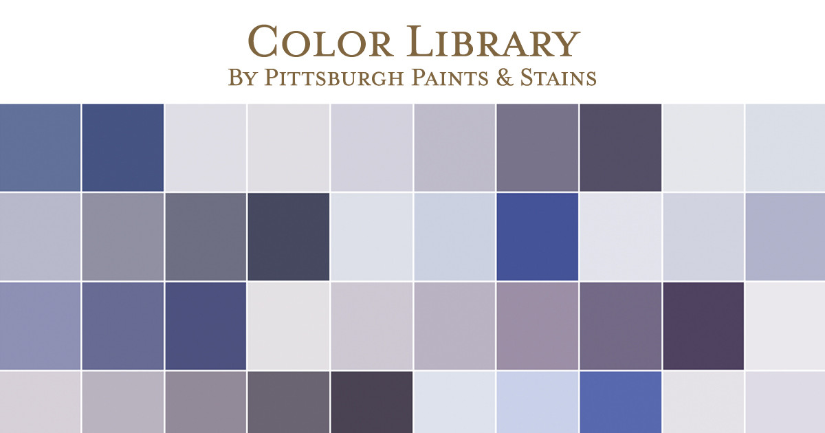 Best ideas about Pittsburgh Paint Colors . Save or Pin Paint Color Library Pittsburgh Paints & Stains Now.