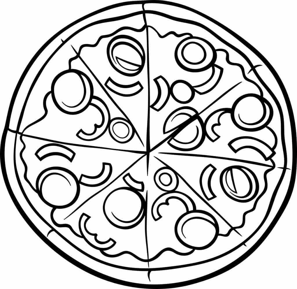 Pizza Coloring Sheet  18 Playful Pizza Activities For Kids SoCal Field Trips