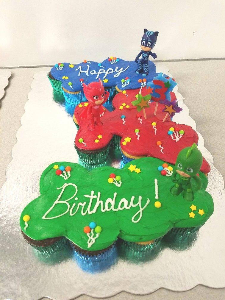Pj Masks Birthday Cake Walmart  Pj Mask pull apart Birthday cake