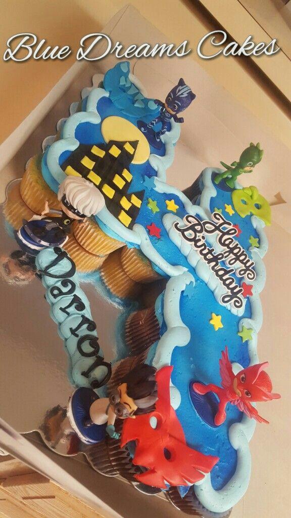Pj Masks Birthday Cake Walmart  Best 25 Pj mask cupcakes ideas on Pinterest
