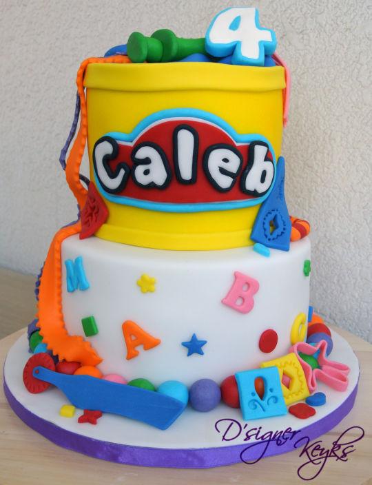 Play Doh Birthday Cake  Play doh Theme cake Cake by Phey CakesDecor
