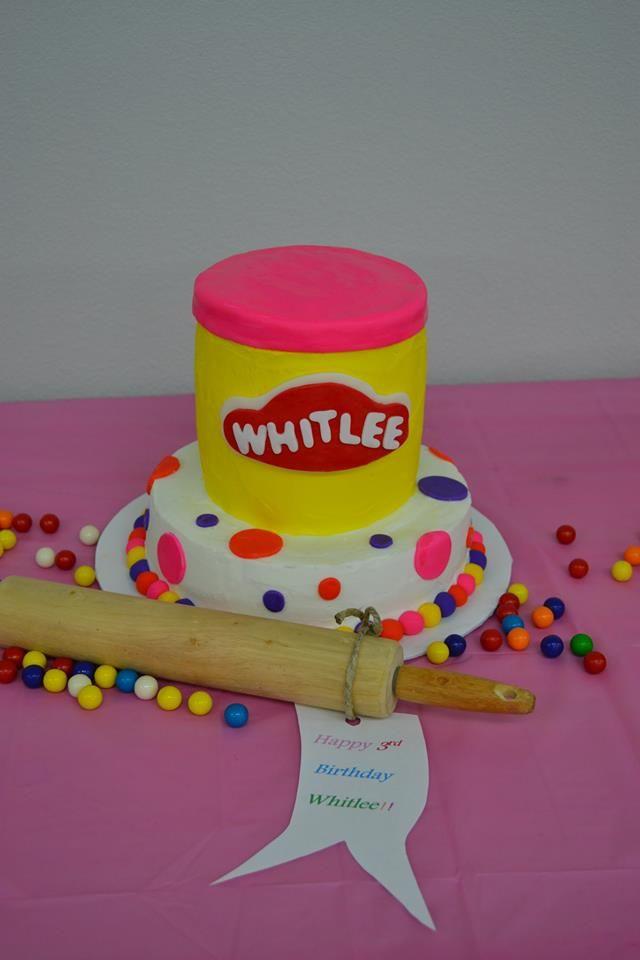 Play Doh Birthday Cake  Pin Play Doh Chocolate Cake Piece Tutorial Youtube Cake on